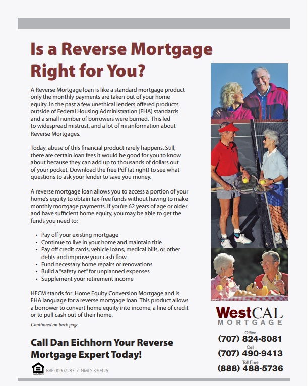 Is a Reverse Mortgage